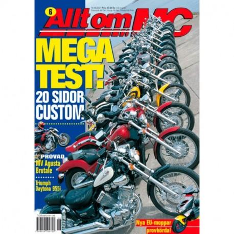 Allt om MC nr 6  2001