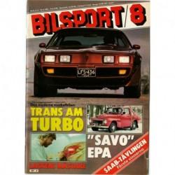 Bilsport nr 8  1981