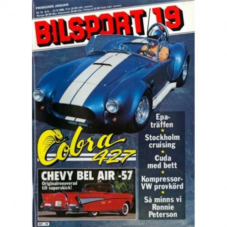 Bilsport nr 19  1988