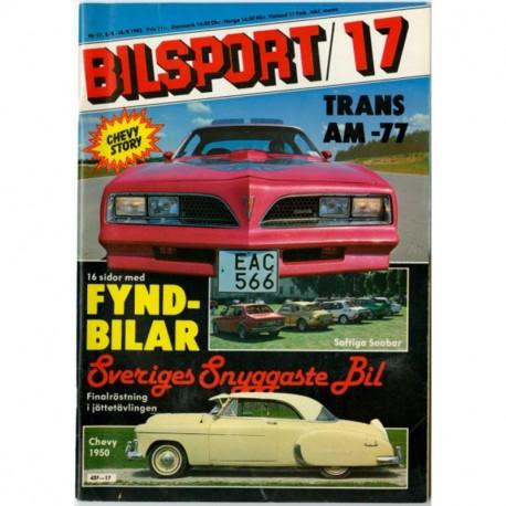 Bilsport nr 17  1982