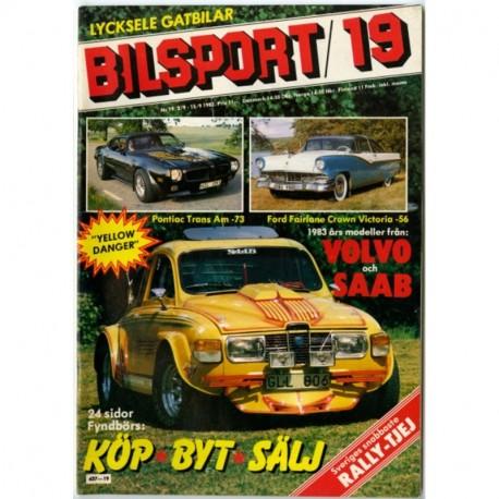 Bilsport nr 19  1982