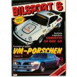 Bilsport nr 6  1984
