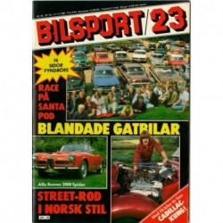 Bilsport nr 23  1981