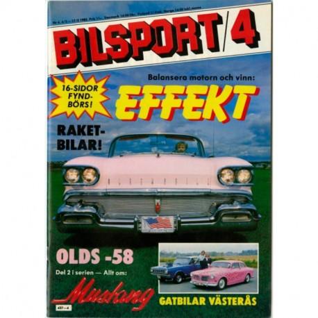 Bilsport nr 4  1982