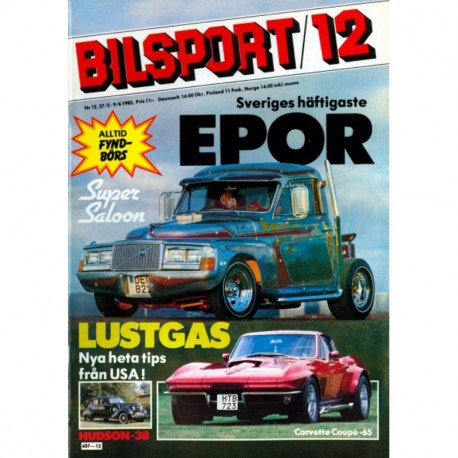 Bilsport nr 12  1982