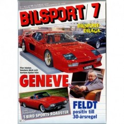 Bilsport nr 7  1988