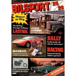 Bilsport nr 25  1979