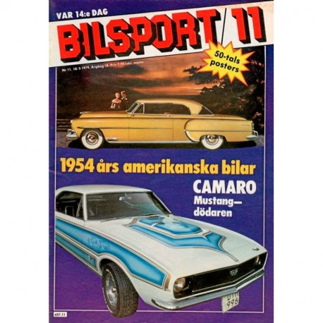 Bilsport nr 11  1979