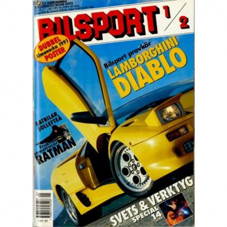 Bilsport nr 1  1991