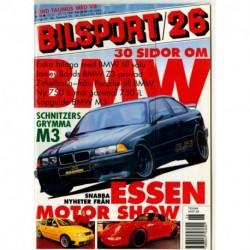 Bilsport nr 26  1995