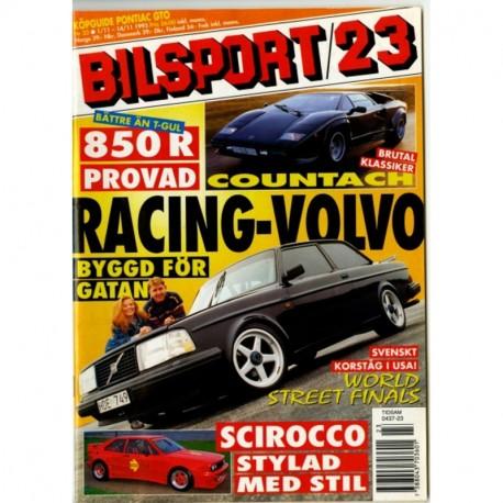 Bilsport nr 23  1995