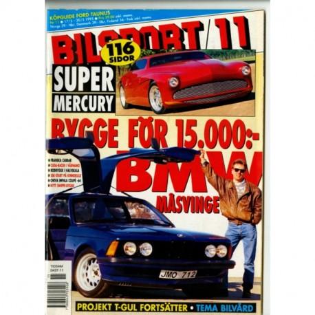 Bilsport nr 11  1995