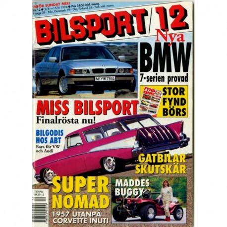Bilsport nr 12  1994