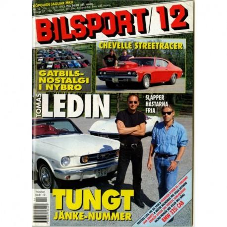 Bilsport nr 12  1993