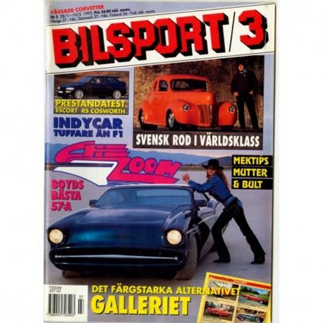 Bilsport nr 3  1993