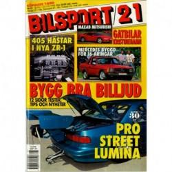 Bilsport nr 21  1992