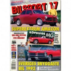 Bilsport nr 17  1992