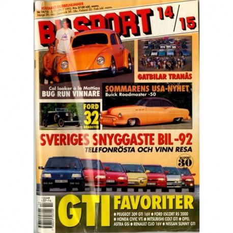 Bilsport nr 14  1992