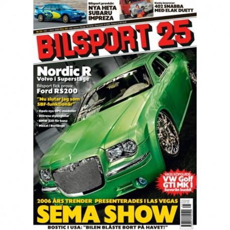 Bilsport nr 25  2005