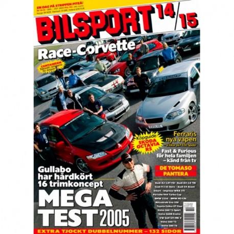 Bilsport nr 14  2005