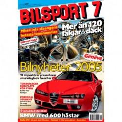 Bilsport nr 7  2005
