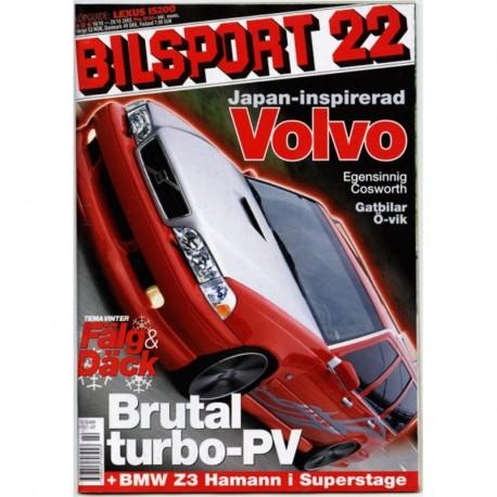 Bilsport nr 22  2003