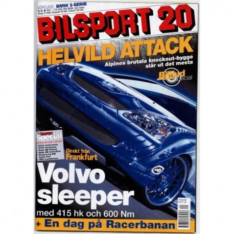 Bilsport nr 20  2003