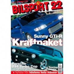 Bilsport nr 22  2002