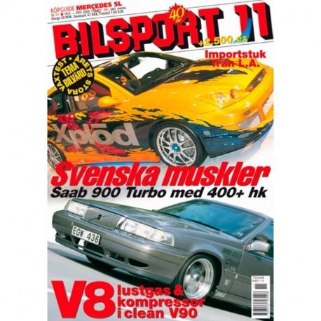 Bilsport nr 11  2002