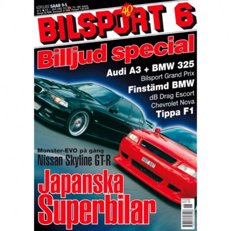Bilsport nr 6  2002