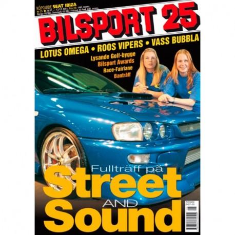 Bilsport nr 25  2001