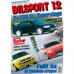 Bilsport nr 12  2001