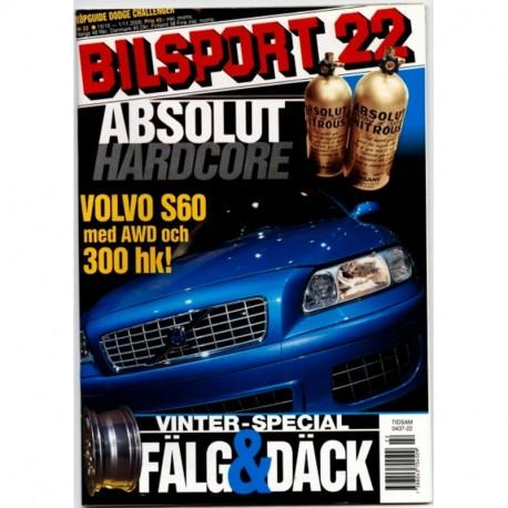 Bilsport nr 22  2000