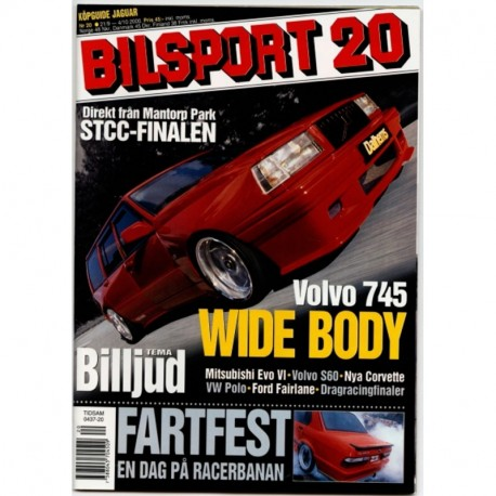 Bilsport nr 20  2000