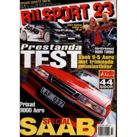 Bilsport nr 23  1999