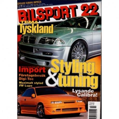 Bilsport nr 22  1999