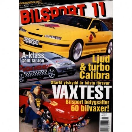 Bilsport nr 11  1999