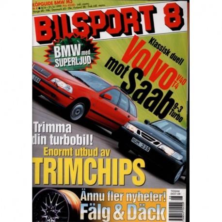 Bilsport nr 8  1999