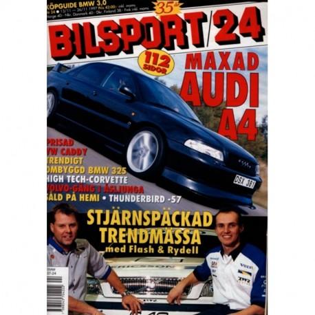Bilsport nr 24  1997