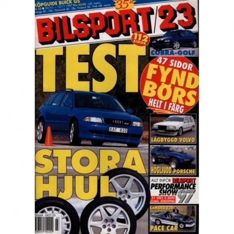 Bilsport nr 23  1997
