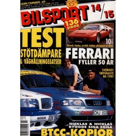 Bilsport nr 14  1997