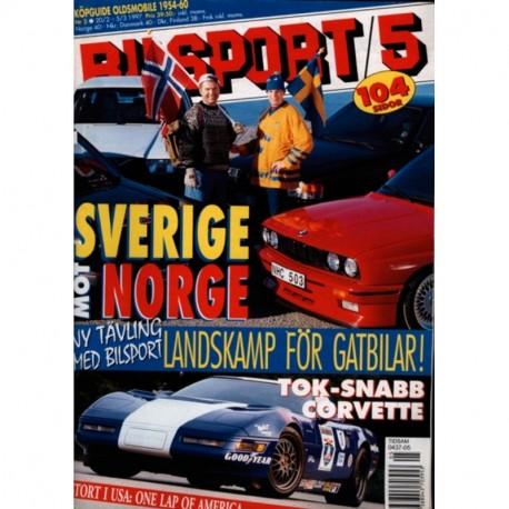 Bilsport nr 5  1997