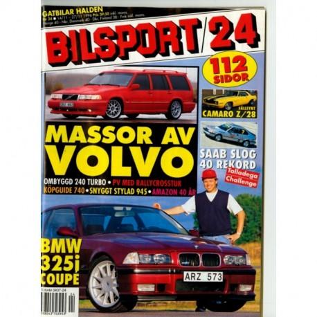 Bilsport nr 24  1996