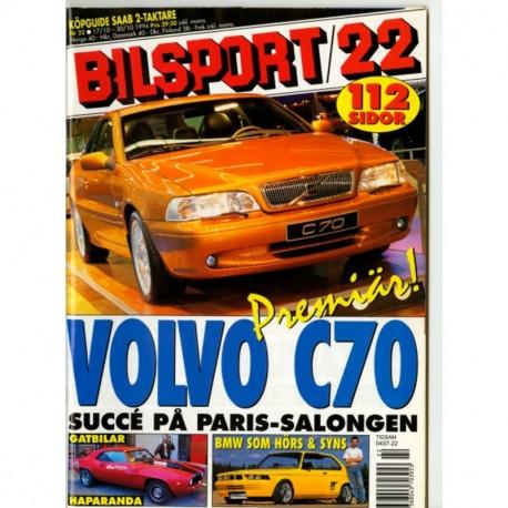 Bilsport nr 22  1996