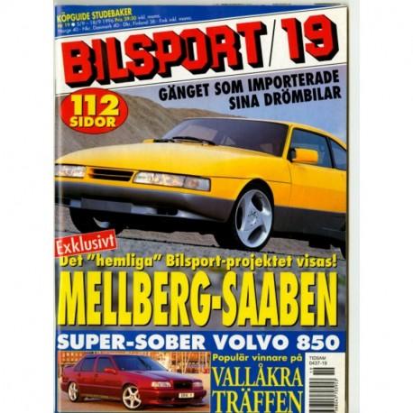 Bilsport nr 19  1996
