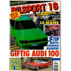 Bilsport nr 16  1996
