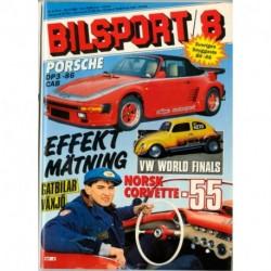 Bilsport nr 8  1986