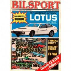 Bilsport nr 3  1978