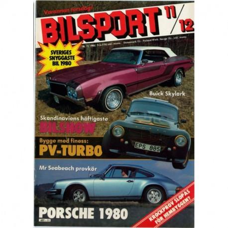 Bilsport nr 11  1980