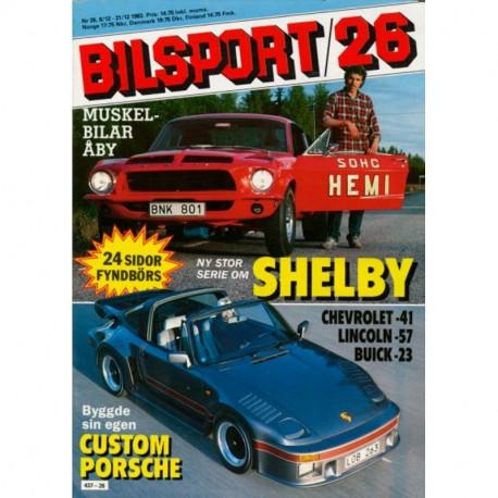 Bilsport nr 26  1983